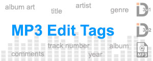 Upload your mp3 and edit tags online